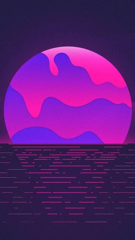 PURPLE AESTHETIC /// estetika neon / estetika ungu ...