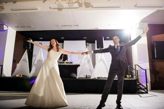 Jewish Wedding Reception First Dance Found On Modern Jewish