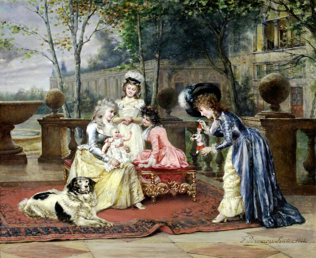 The New Toy Puzzle In Piece Of Art Jigsaw Puzzles On Thejigsawpuzzles Com Play Full Screen Enjoy Puzzle Of The Day And Tho Puzzle Art Victorian Paintings Art