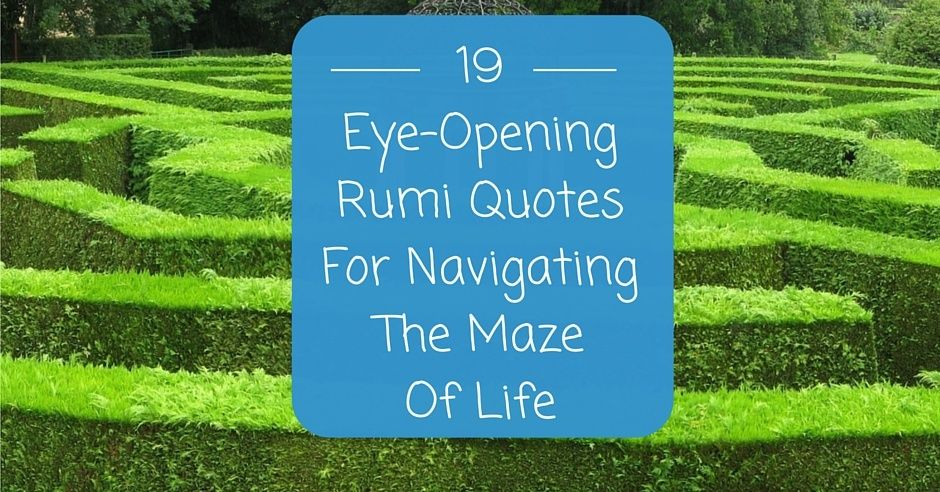 Latest Life Is Like A Maze Quote