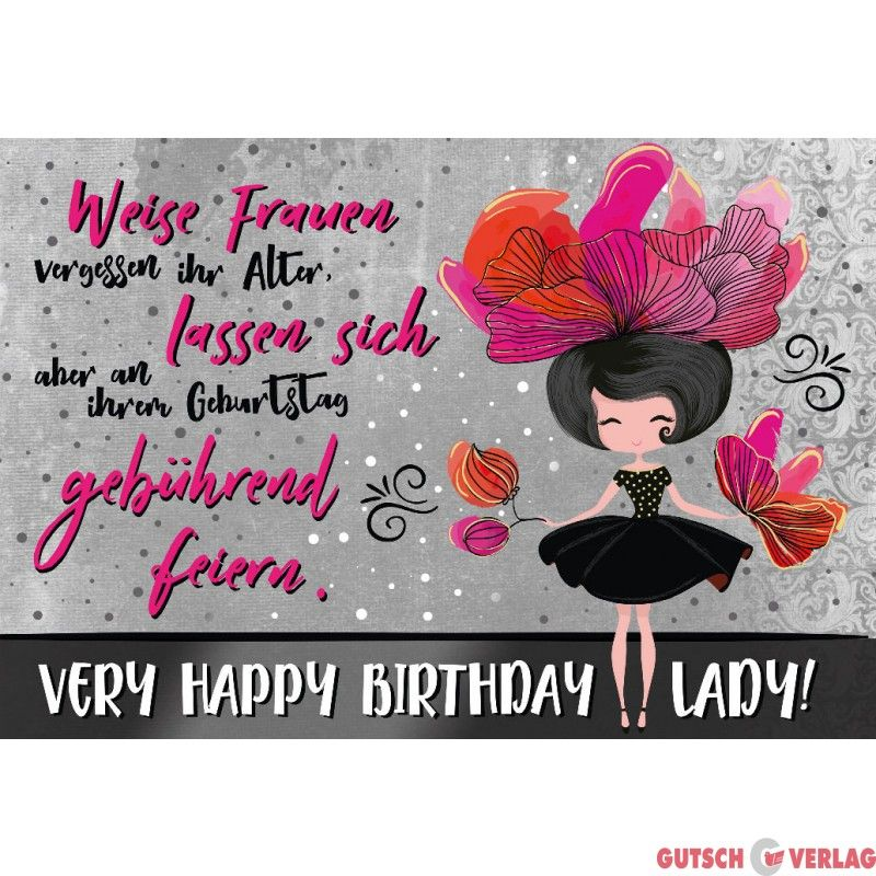 Geburtstag Geburtstagskarte Frau Lady Fiftyshades