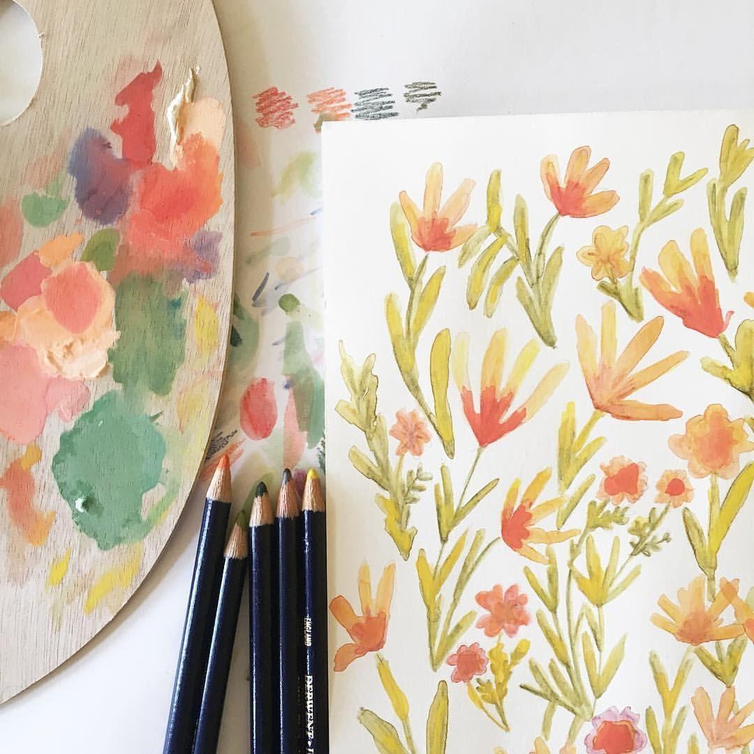 Pin by Alja Horvat on Design Illustration, Flowers today