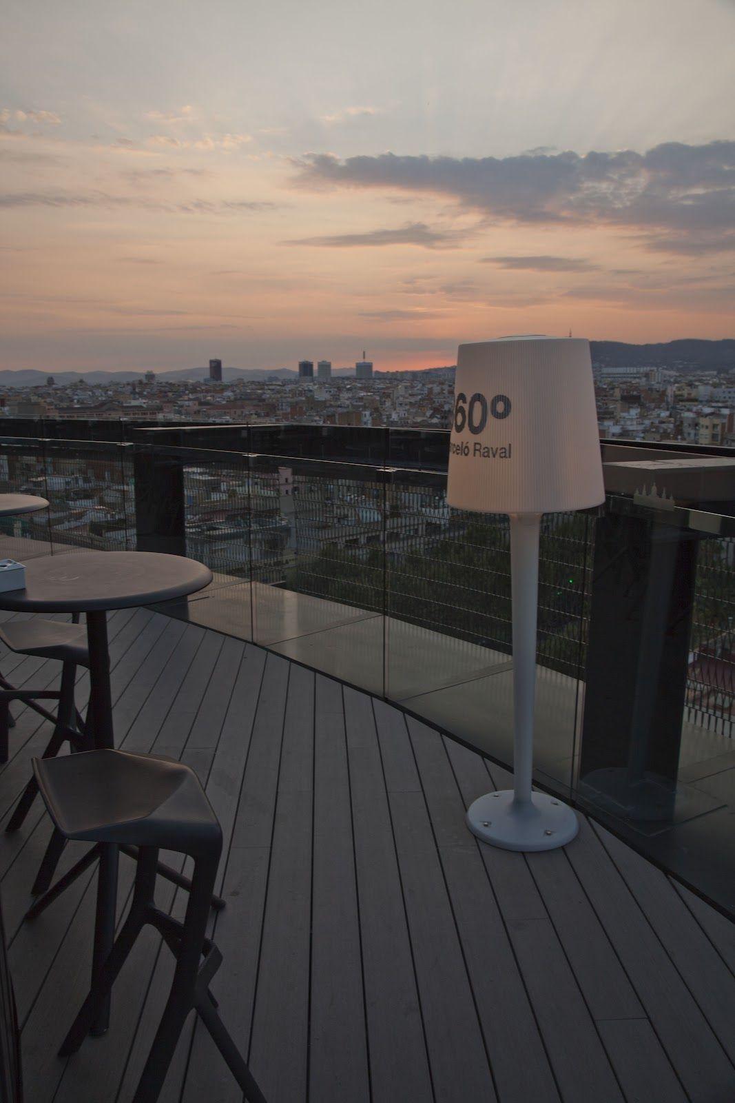 Hotel Barcelo Raval Vistas De 360º De Barcelona Terrazas