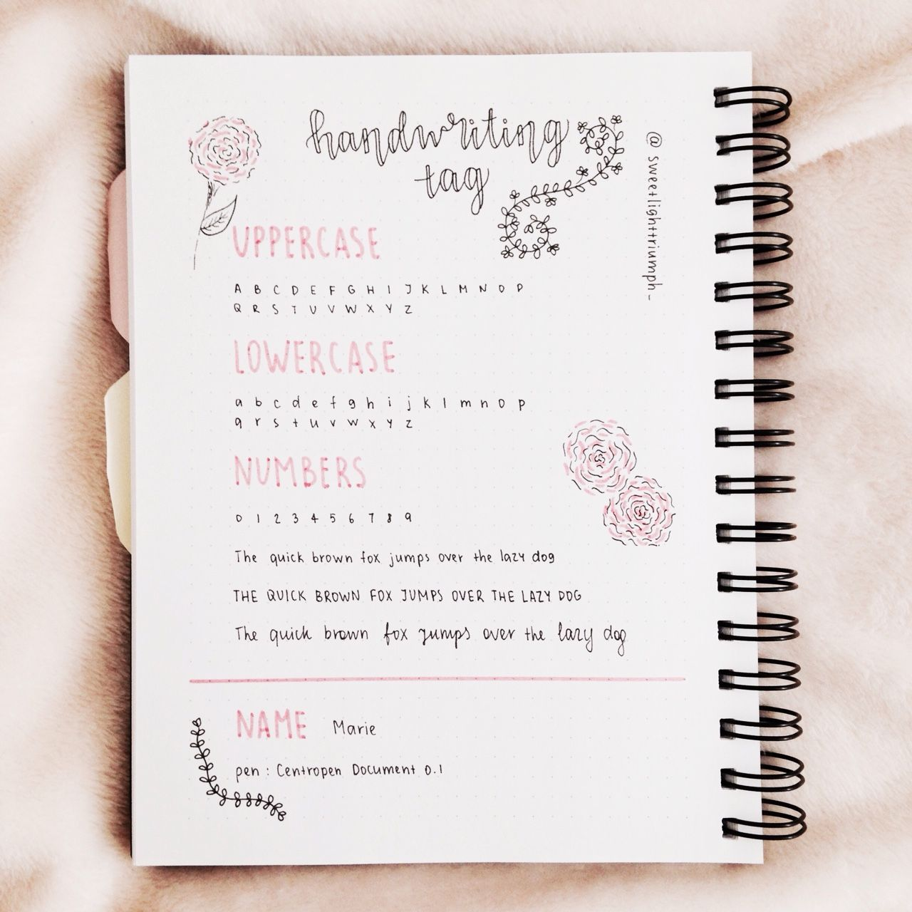 Officiallystudying Sweetlighttriumph Handwriting