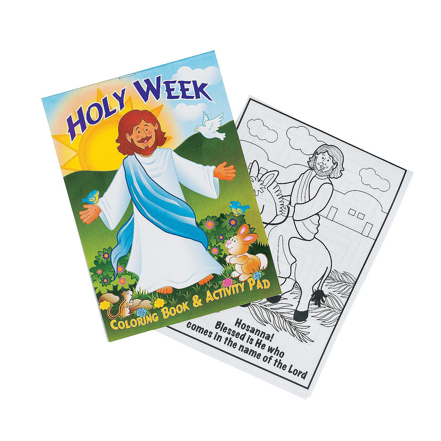 Holy Week Activity Pads