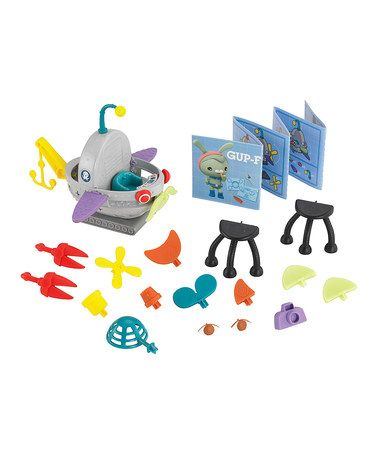 Look what I found on #zulily! Octonauts Build-a-Gup Submarine Set by Fisher-Price #zulilyfinds