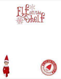 Elf On The Shelf Goodbye Letter , Elf On The Shelf #elfontheshelfideasfortoddlers