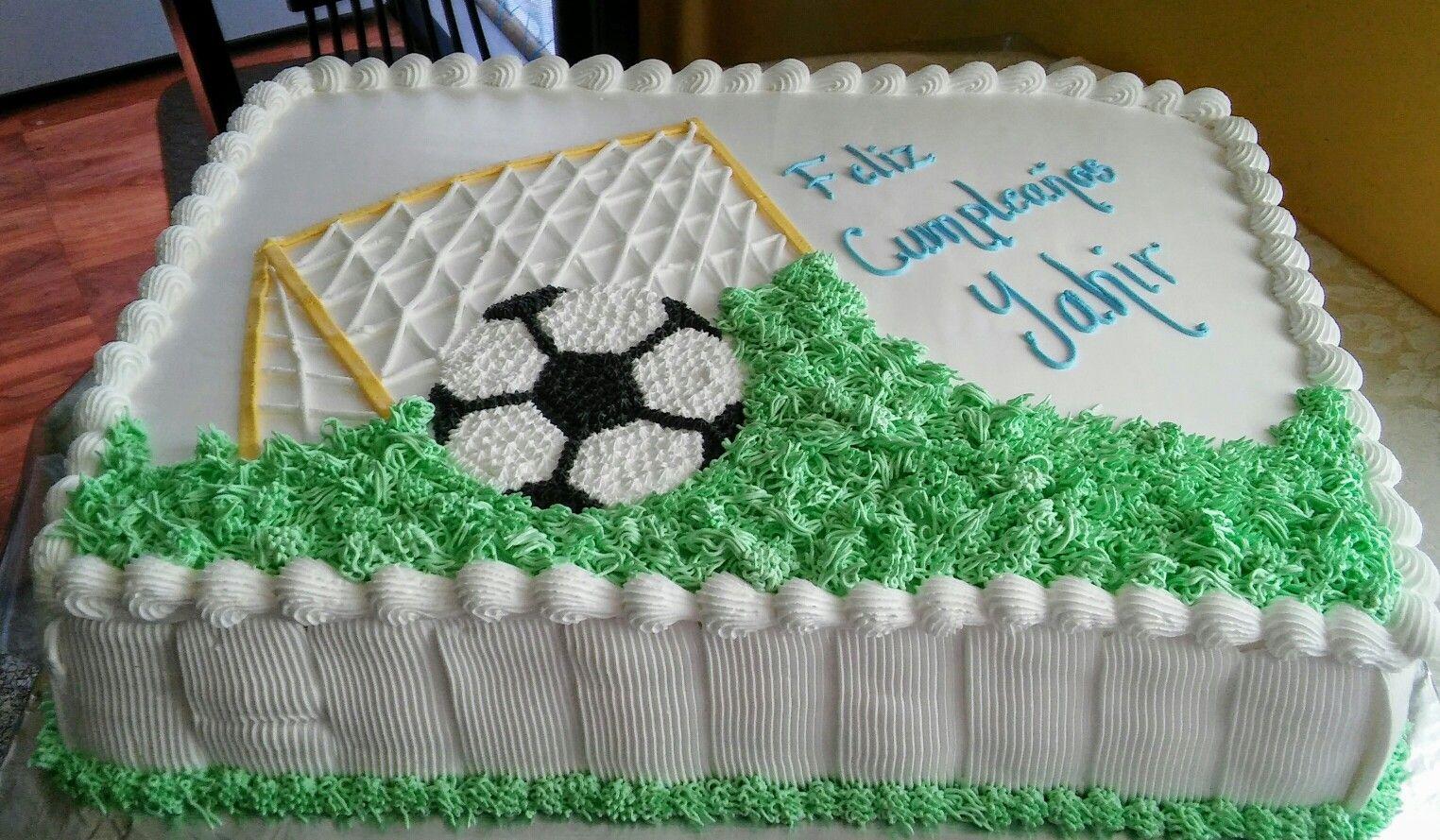 Soccer Cake Buttercream Cake Decorating Soccer Birthday Cakes Soccer Cake
