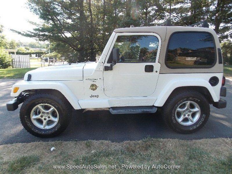 Used 2001 Jeep Wrangler 2 Door Sahara