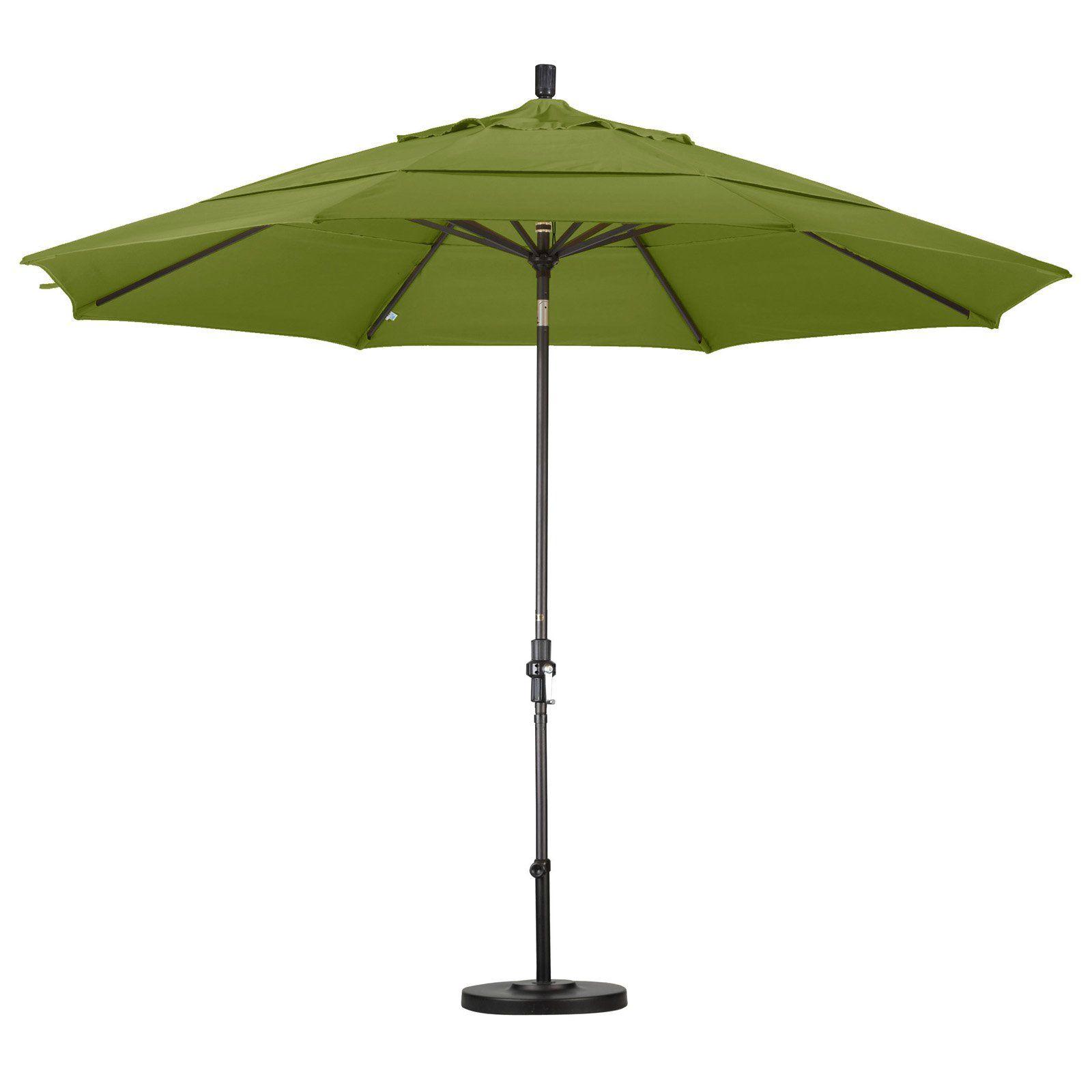 California Umbrella 11 Ft Aluminum Double Vent Tilt Market 318 Br Fabric