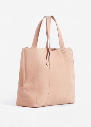 c81cf60a9 Bolso shopper piel - Mujer   I W A N T   Bolso shopper, Bolsos y ...