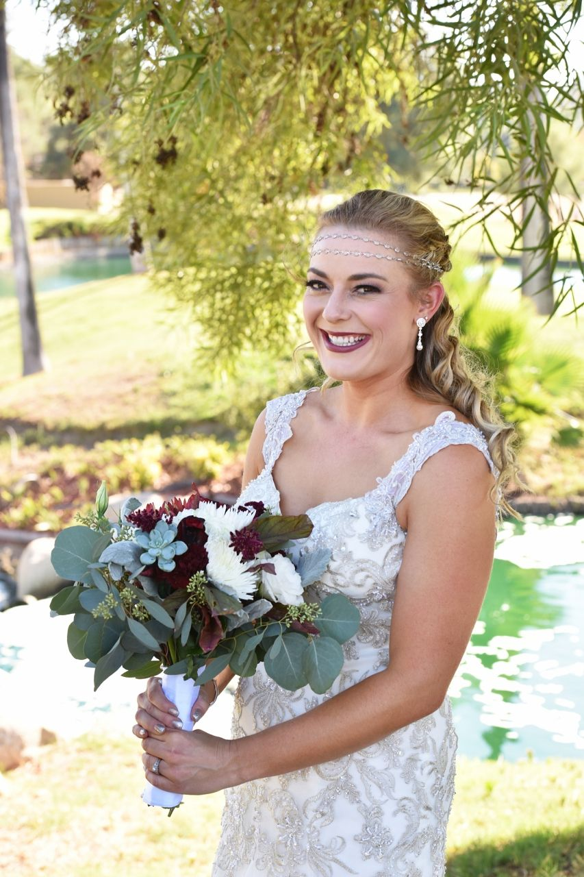 Outdoor bridal portraits sielle photography bride on