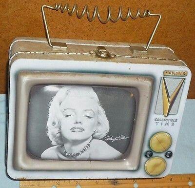 Marilyn Monroe TV Tin Lunchbox (Color)