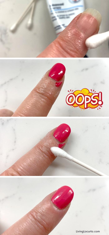 How To Get Perfect Nail Polish Nail Polish Hacks Perfect Nails Nail Polish Designs