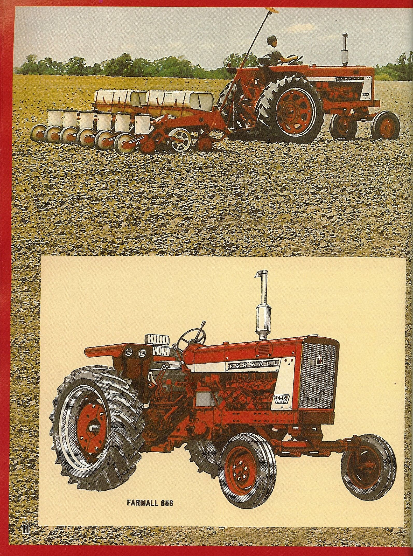 Farmall 656 Ad Wheel Horse Tractor, International Harvester, International  Tractors, Farmall Tractors,