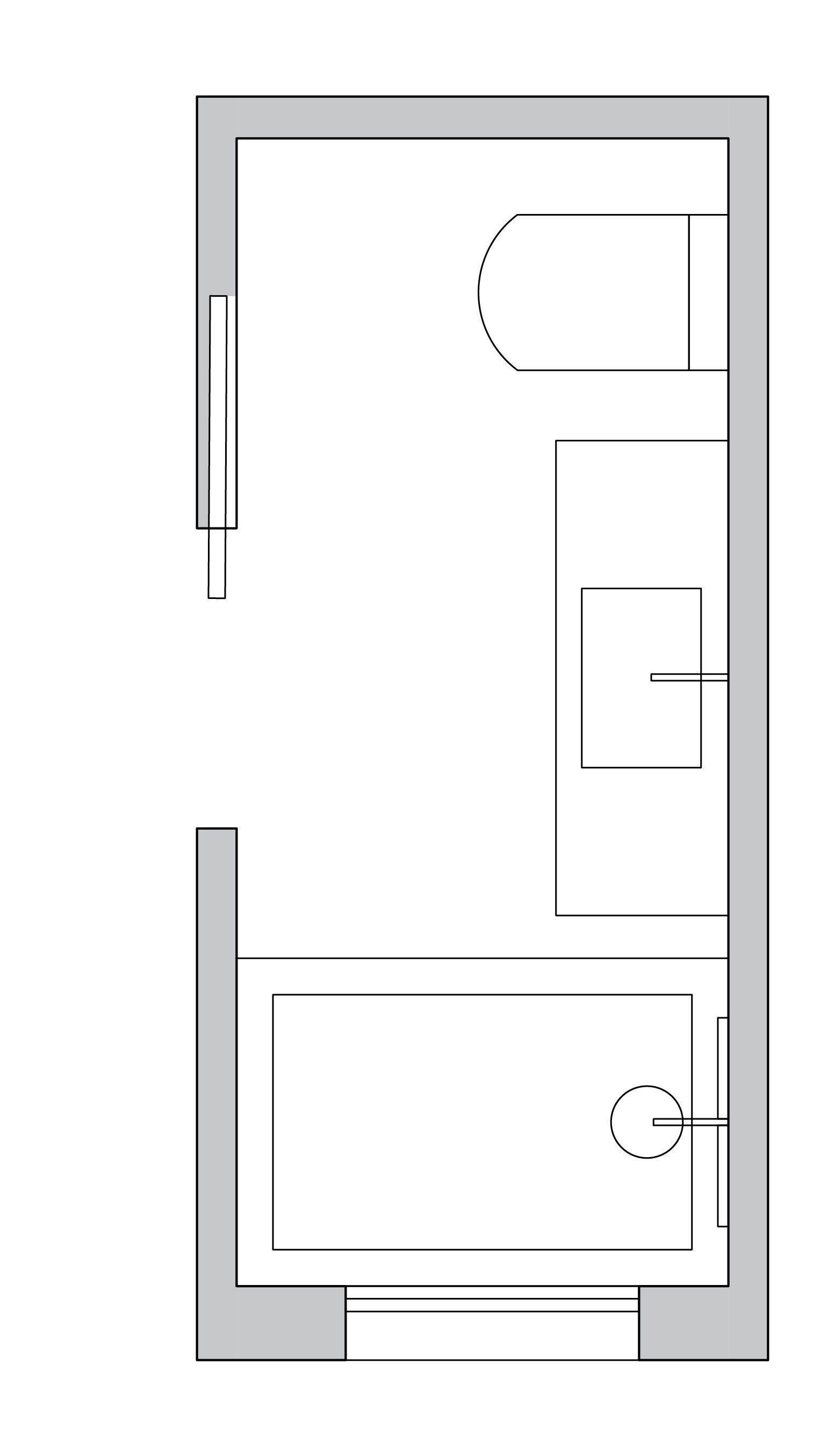 Long and narrow Bathroom Layout | Home renovation | Pinterest ...