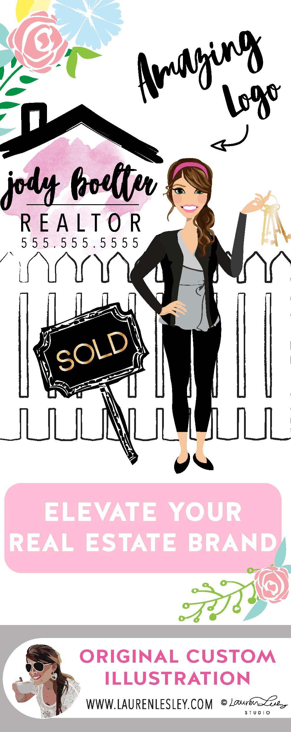 Real Estate Agent Logo Real Estate Marketing Real