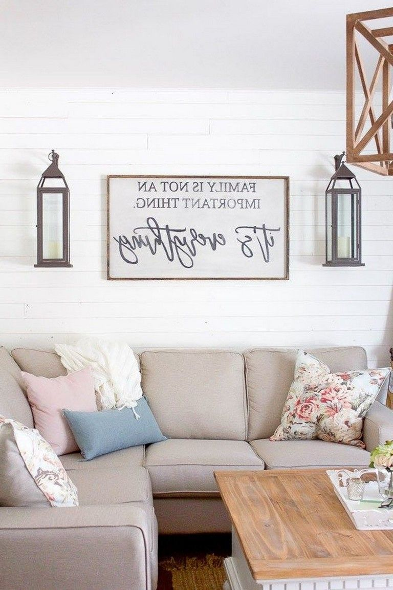 55 Awesome Living Room Wall Decoration Ideas Page 11 Of 56 Wall Decor Living Room Wall Painting Living Room Room Wall Decor Living room wall decorating