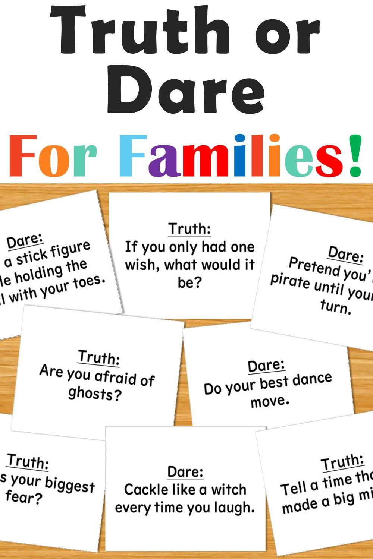 Challenges or kids printable dare 72 Best
