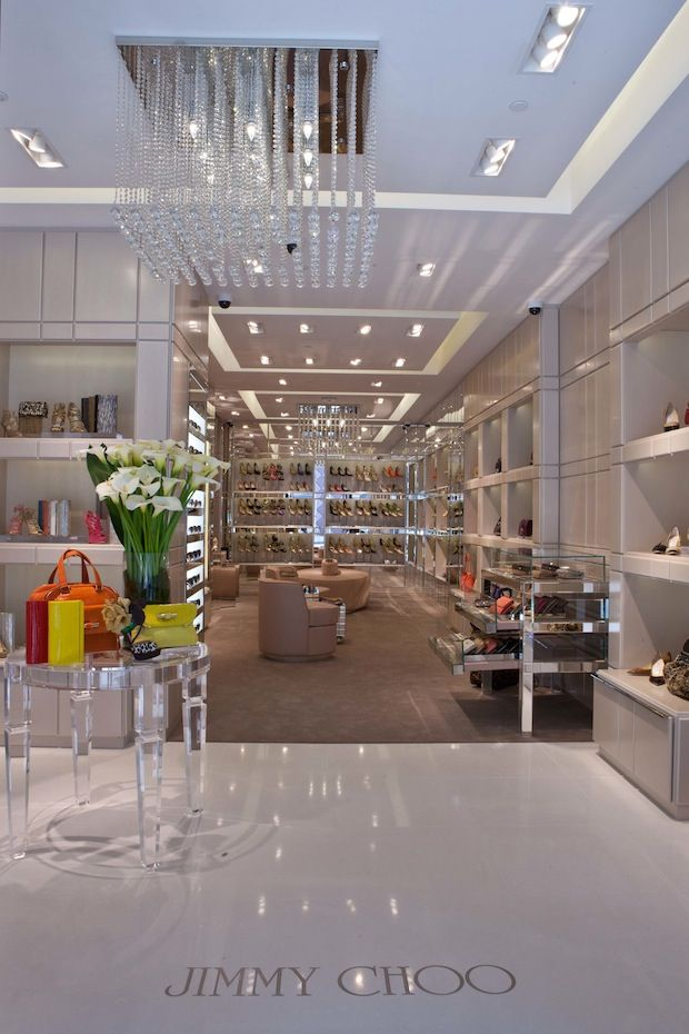 Jimmy Choo boutique in Union Square San Francisco / 9to5Chic