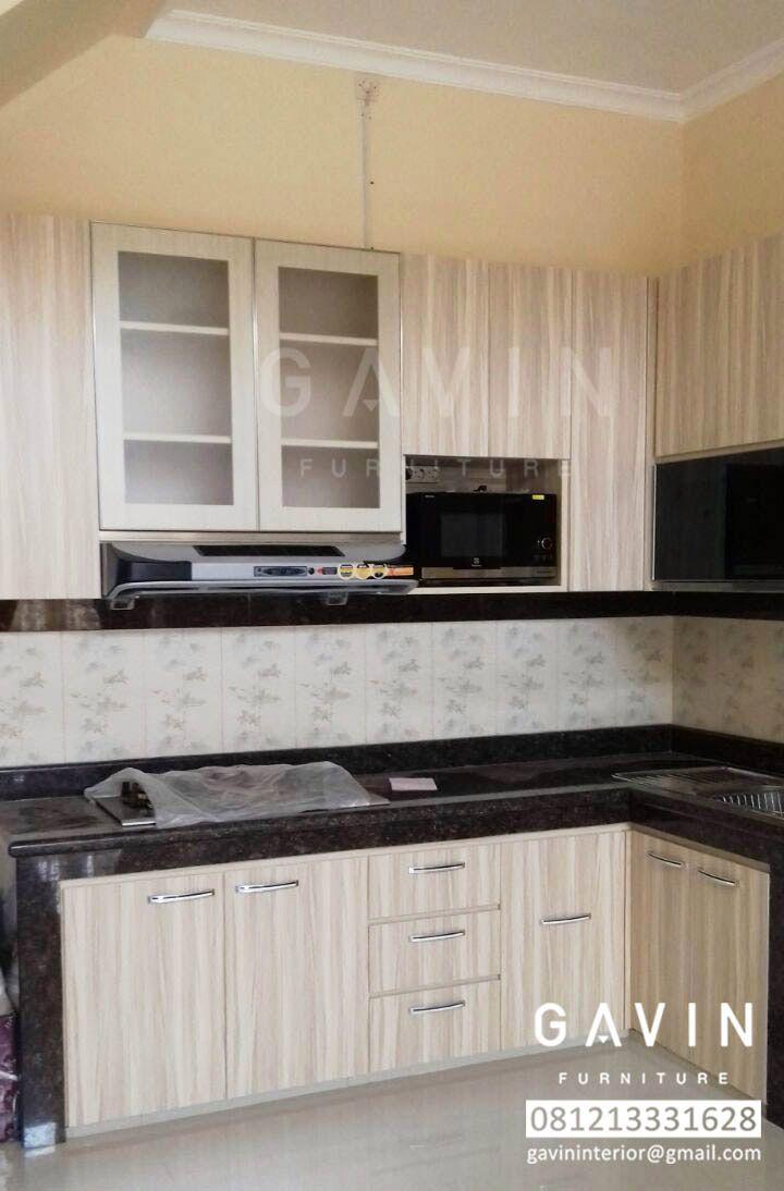 Pembuatan custom lemari dapur dan kitchen set harga lemari dapur di jakarta model ataupun type rumah