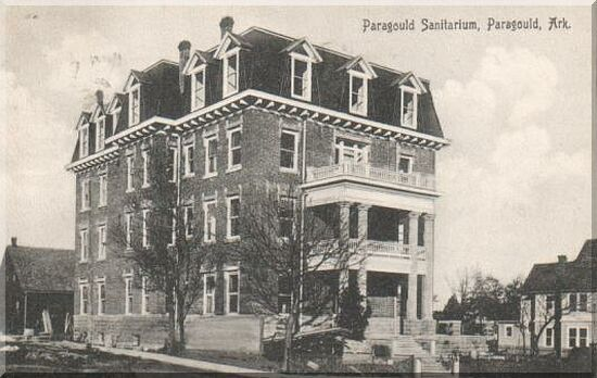 The Old Son Memorial Hospital In Paragould Ar Later Served As City Hall