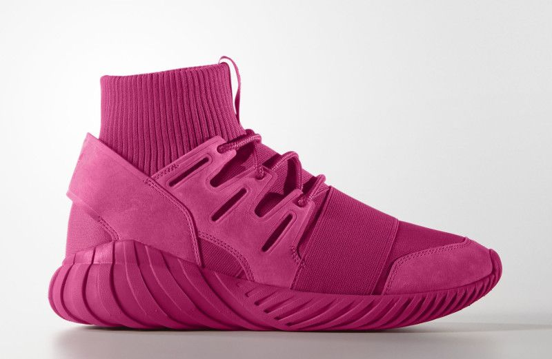 cúbico Practicar senderismo Cornualles  This Tubular Doom is Bringing Pink Back | Adidas originals tubular, Adidas  tubular doom, Adidas men