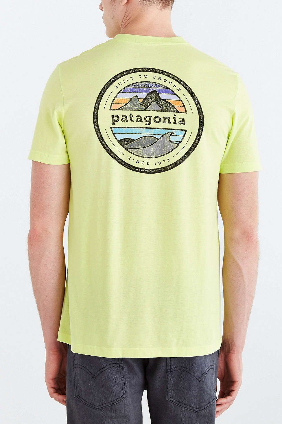 Shop Patagonia Rivet Logo Tee at Urban Outfitters today. We carry all the  latest styles, colors and brands for you to choose from right here.