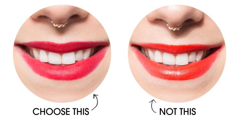 Lipstick Colors That Make Your Teeth Look Whiter Lipstick For