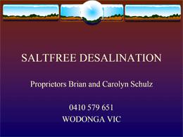 SaltFree Presentation