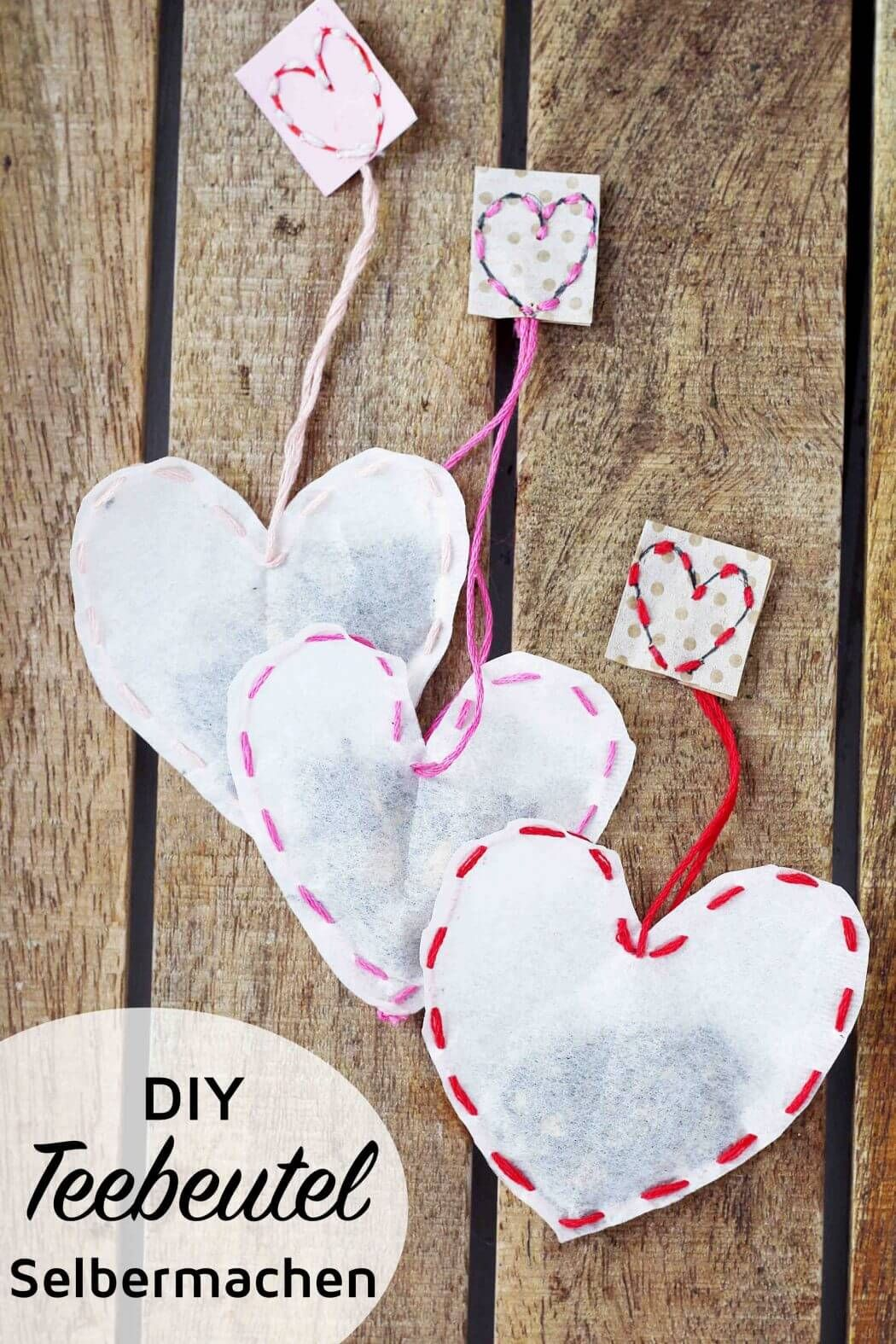 Teebeutel selber machen: Kreative DIY Geschenkidee #frühlingblumen