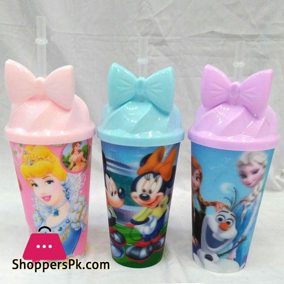 Buy Cartoon Mason Jar for Juice Soft Drinks Plastic Mug at Best Price in Pakistan