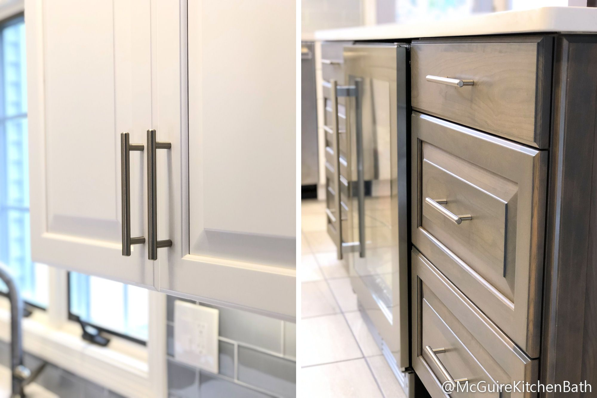 White and Grey Kitchen Remodel in Peabody | McGuire + Co ...