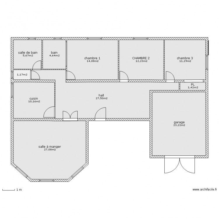 Plan Maison 150m2 Senegal Plan Maison 150m2 Plan Maison Plan De Maison Gratuit