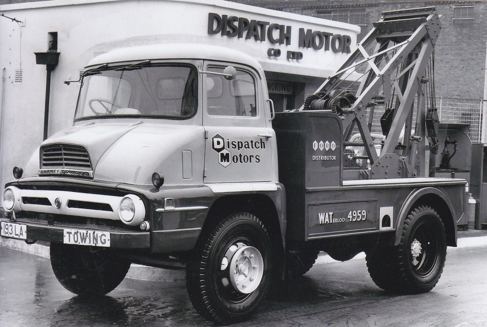 193 LA | Tow truck, Ford and Commercial vehicle