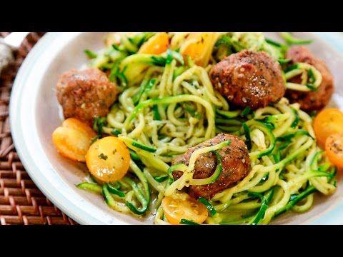 d licieuse recette de spaghetti de zucchini bien manger recette low carb keto ketolistic qc. Black Bedroom Furniture Sets. Home Design Ideas