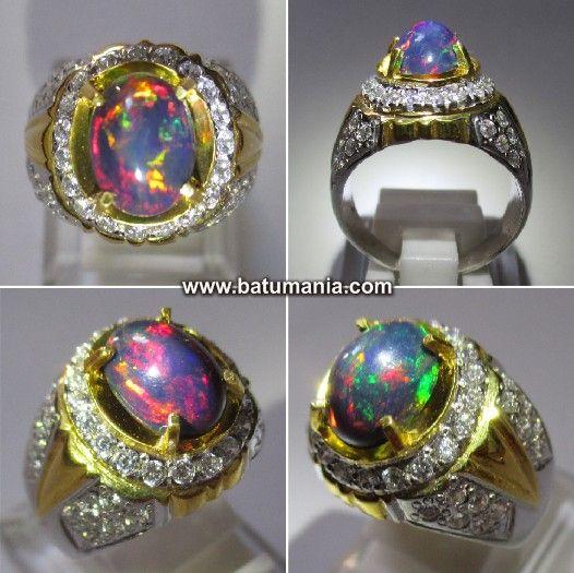 76+ Gambar Batu Cincin Black Opal Paling Keren