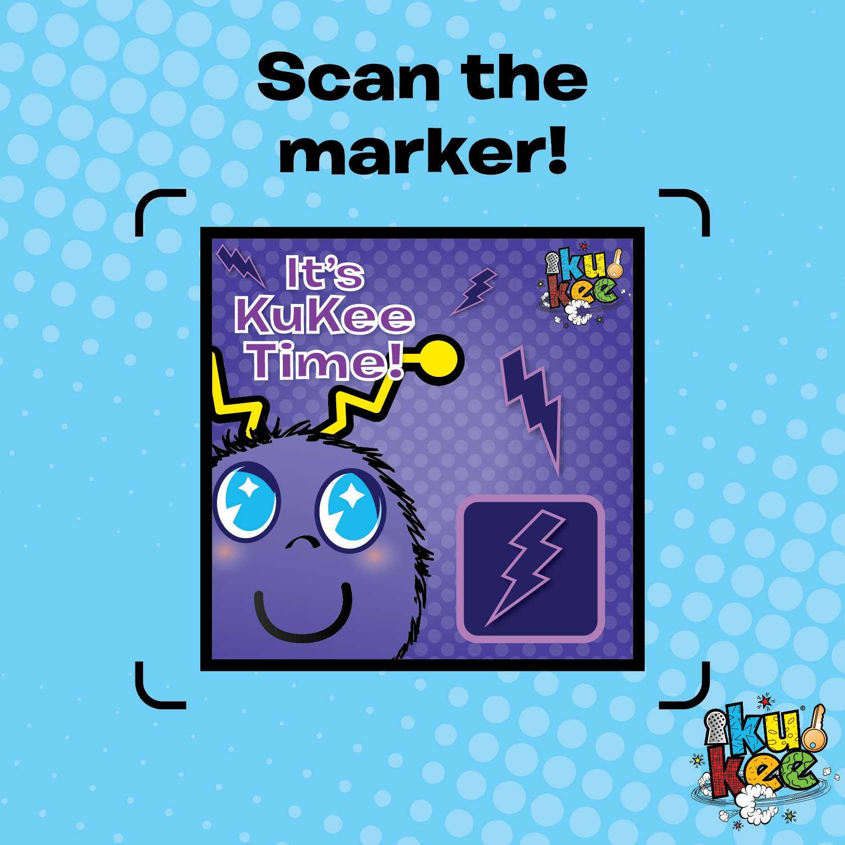 Scan the marker! mykukee Markers, App, Google play