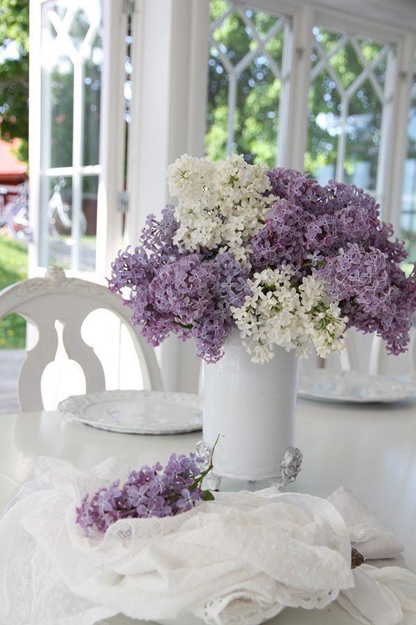 La tavola si veste di shabby-chic. #Dalani #Flower #Home
