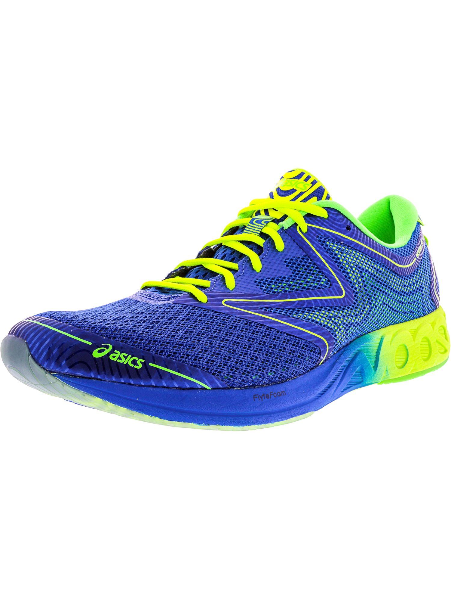 Asics Men S Noosa Ff Ankle High Running Shoe In Blue Modesens Running Shoes Asics Men Shoes