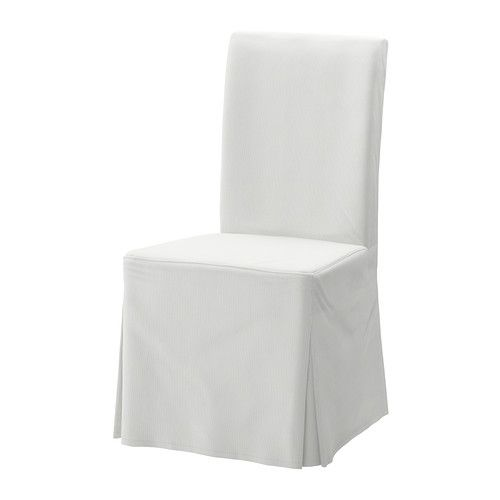 HENRIKSDAL Chair Cover Long IKEA The Washable To Frame Is Easy