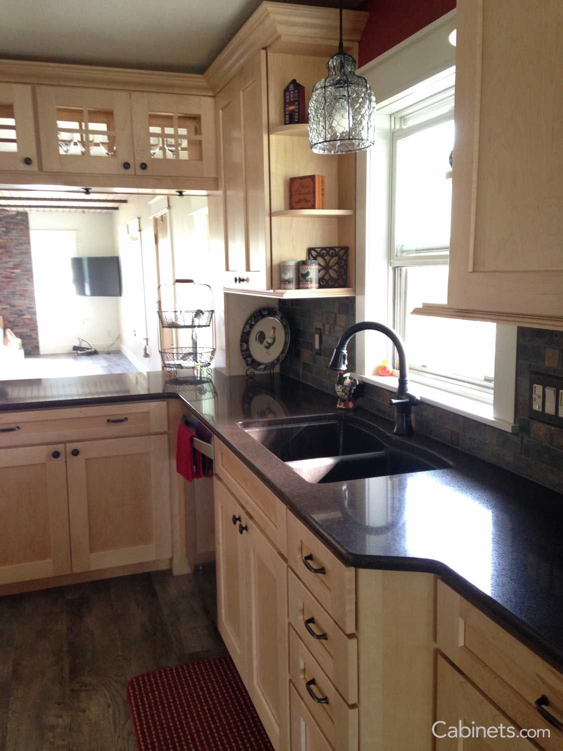 Shaker II Maple Natural | Discount kitchen cabinets ...