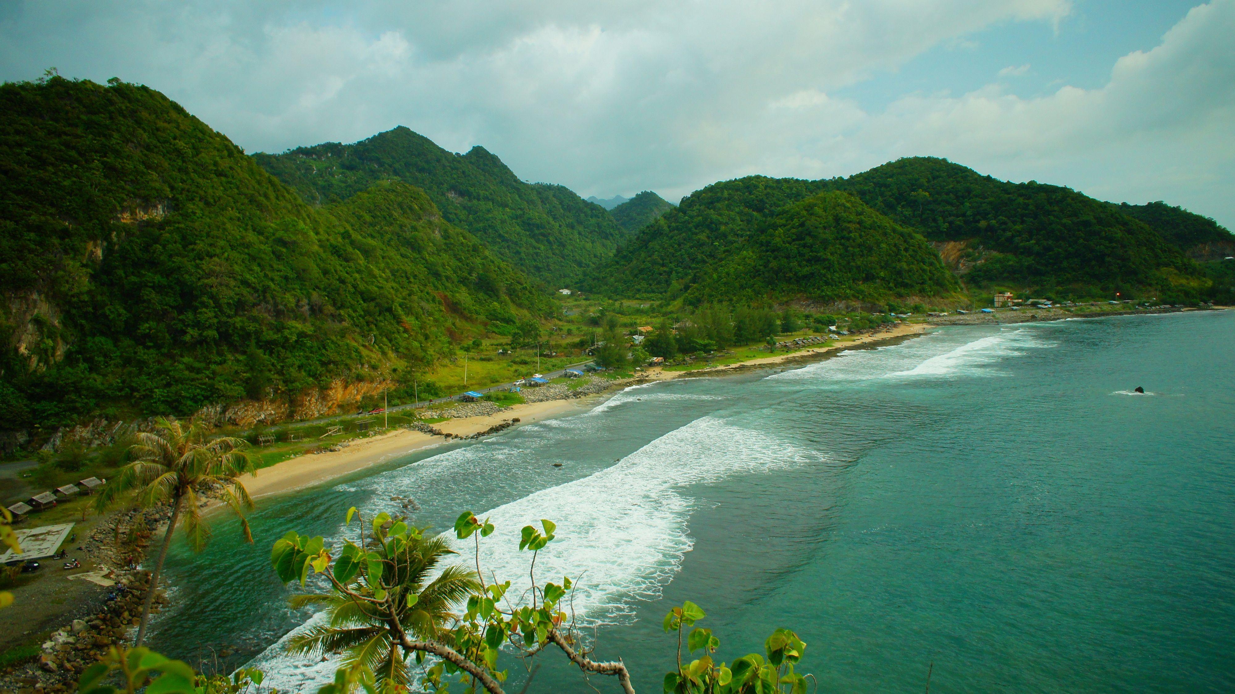 Pantai Lhoknga Pantai Terindah Di Sumatera (Dengan gambar ...