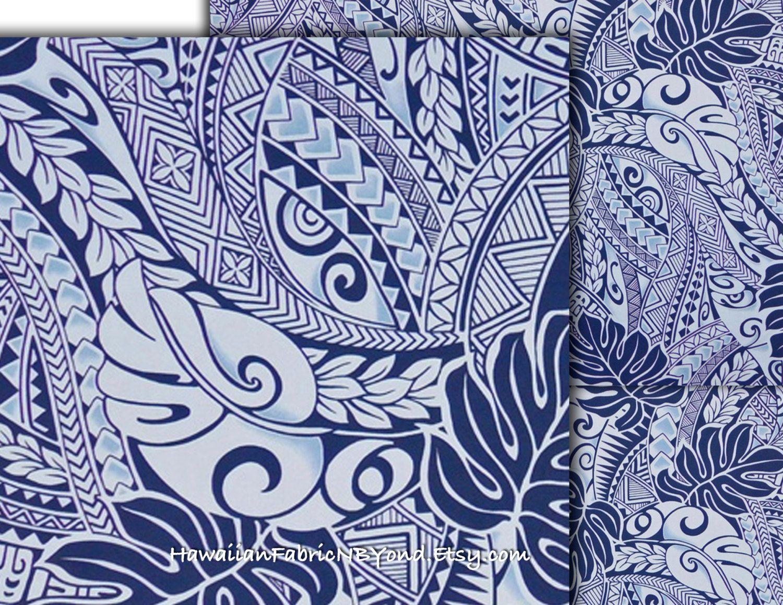 Tapa Tattoo Hawaii. Check it out at HawaiianFabricNBYond.Etsy.com ...