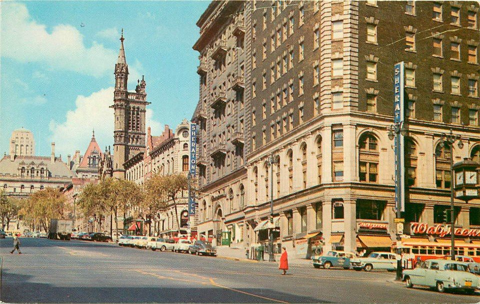 Corner Of State St And North Pearl 1950 S Albany Ny