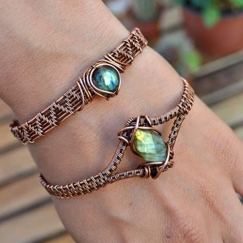 Jewerly making wire wrapping handmade 55 ideas