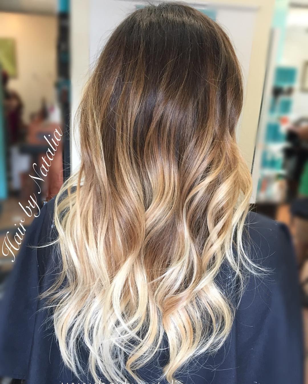 Balayage hair balyage hair blonde balyage brown balyage caramel highlights highlighted hair - Balayage blond caramel ...