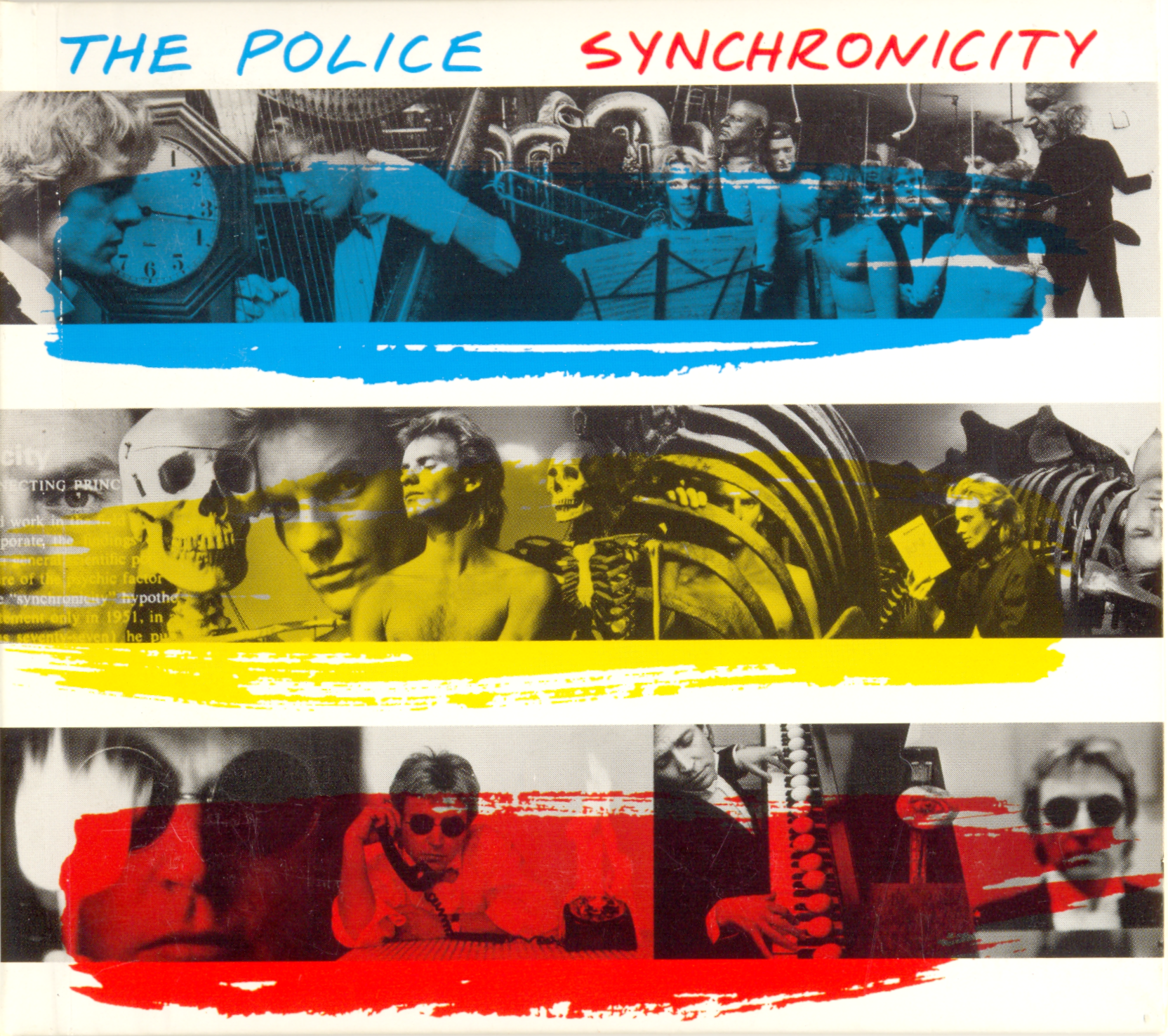 Synchronicity The Police 1983 The Police Covers