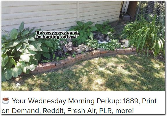 your wednesday morning perkup 1889 print on demand reddit your wednesday morning perkup 1889 print on demand reddit fresh air plr more wednesday morning malvernweather Image collections