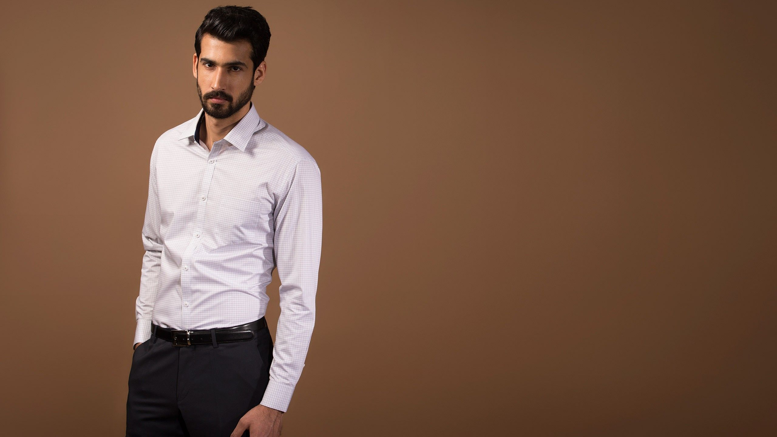 Buy SUM GREY Formal Shirts Online at Andamen at the best price ...